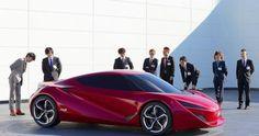 Honda Sakigake full scale model by Japanese students