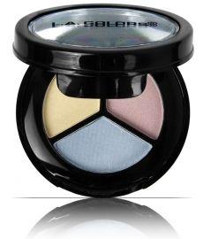 L.A. COLORS Cosmetics - Eyeshadow Trio/ Tender Rose, Sweet Mocha, Roxy Rust Trio