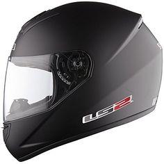 ATO Moto Night Fighter M L y XL tallas S Casco integral para moto color negro mate y blanco