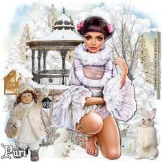 """MI RINCÓN GÓTICO: CT for Daniela E Designs,Hiking in the snow"""""""
