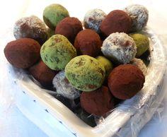 Rezept Ayurvedische Energiekugeln - vegan von Bienchen Maja - Rezept der Kategorie Desserts