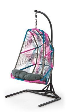 Copa Hanging Chair, Spectrum Pink