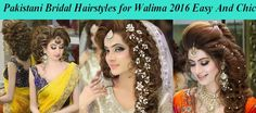 Pakistani Bridal Hairstyles for Walima 2016 Easy And Chic; walima is much relaxing and stresses less day for bridal and groom as well they try to give them Tips For Dry Hair, Beauty Tips For Skin, Hair Care Tips, Beauty Hacks, Curly Hair Care, Curly Hair Styles, Pakistani Bridal Hairstyles, Walima, Groom