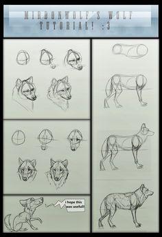 Para quem já estava procurando isso já faz um tempo, agora você vai entrar aqui no blog e sair desenhando lobos. Espero que goste do tutori...