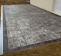 Notre Société Pose Tout Type De Sol En Béton Imprimé à Des Prix - Prix terrasse beton imprime
