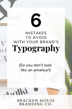 6 Embarrassing Typography Mistakes To Avoid Making! (These are easy to make, but you can avoid them!) About: font mistakes, typography mistakes, simple branding tips for entrepreneurs. Boutique Logo, Logo Branding, Branding Ideas, Business Branding, Easy Font, Simple Fonts, Simple Website Design, Brand Style Guide, Business Design