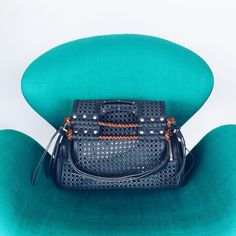 Priscilla New Bentota Storm / bag woven color /