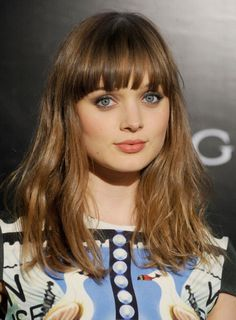 The inspiring pic is part of Bella Heathcote Hairstyles which is listed within BELLA HEATHCOTE Bangs, BELLA HEATHCOTE Hair, BELLA HEATHCOTE Thin Hair Bangs