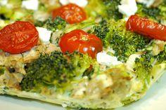 Een heerlijk recept voor een koolhydraatarme en eiwitrijke quiche met broccoli en tonijn