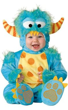 Baby Lil Monster Costume-Party City $50