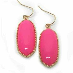 Southern Style Oval Earrings