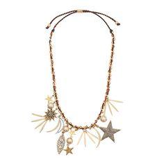 J.Crew - Firework charm necklace