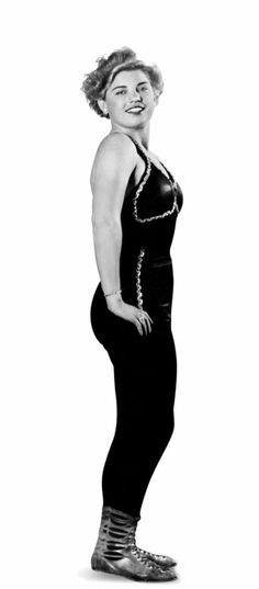 Mae Young when she was young