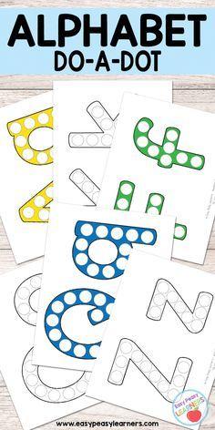 Alphabet - Do a Dot Printables