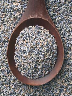 Dried Lavender for instead of confetti