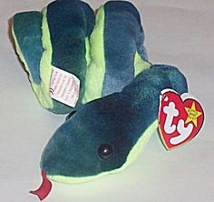 TY Beanie Baby - HISSY the Snake by