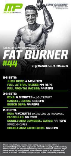 MP Fat Burner 44
