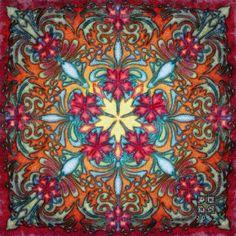 """""""Mandala Design #164"""" - art by Philluppus, via deviantART"""