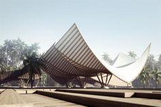 ZEN Resort by Pawel Podwojewski, via Behance