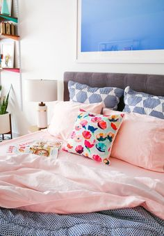 Learn how to make millennial pink sheets with @ritdye! #ritdye