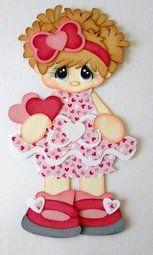 Muñeca bebe rosada en foami