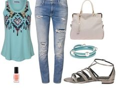 Casual outfit beach