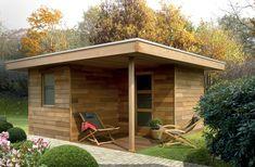 Maison de jardin Design Patio, House Extensions, Gazebo, Shed, Outdoor Structures, Architecture, Outdoor Decor, Home Decor, Images