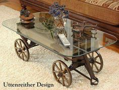 Wagon  coffee table