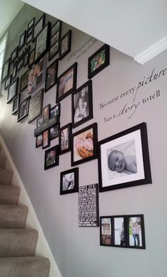 Our stairway photo gallery.