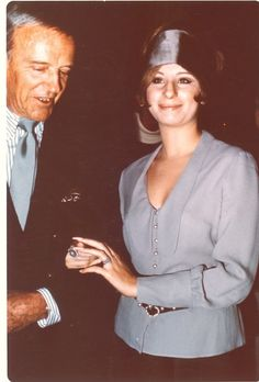 Barbra Streisand with Fred Astaire