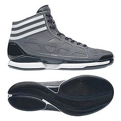 the latest faf77 394d9 adidas adiZero Crazy Light Basketball Shoe 129.99 Nba Store, Rubber Shoes,  Grey Sneakers,