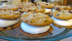 fleur de sel chewy chocolate chip cookie whoopie pies