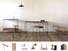 木や鉄・・・使うほどに趣と愛着が増す枯白(koku)のオーダー家具がおすすめ!