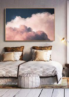 """""""Intrépide"""" Cloud Painting"""