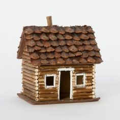 Terrain Pinecone Log Cabin #shopterrain