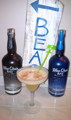 Vote for chris cotriss.Please vote for this entry in Blue Chair Bay Rum Somewhere in the Sun Cocktail Contest!
