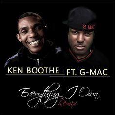 Ken Boothe FT. G-Mac - Everything I own (cover)