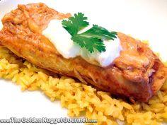 The Golden Nugget Gourmet: Rotisserie Chicken Enchiladas #QuickAndEasy