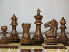 A very pleasant set of chess pieces that meets the overall specifications for any chess enthusiast.