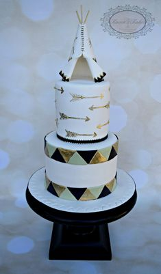 Teepee For Baby on Cake Central