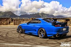 Blue supra with Ridox body kit by Orido. Only kit I would buy personally, all the other ones are ricey