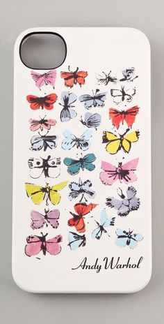 Incase  Andy Warhol Butterflies iPhone Case  Style #:INCAS30010  $39.95
