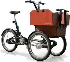 For biking the beach board walk each evening with my precious cargo.  (Feetz Tribike: TreeHugger)