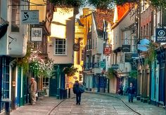 The Shambles of York, England