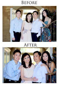 Family Portrait Posing Basics:  visit www. facebook.com/northbaystudios for more guides