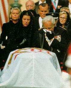 Princess Grace funeral 1982