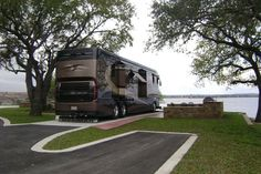 Sunset Point on Lake LBJ - Waterfront RV Spaces - Texas Hill Country - Premier Motor Coach Sites