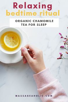 Chamomile is used as a remedy for insomnia and stress. Drinking organic chamomile tea for sleep is a simple and delicious way to enjoy its benefits. Insomnia Causes, Insomnia Remedies, Sleep Tea, Prenatal Massage, Sleeping Pills, First Health, Chamomile Tea, Sleep Problems, Destress