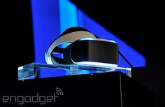 'Project Morpheus' is Sony's virtual reality headset for the PlayStation 4