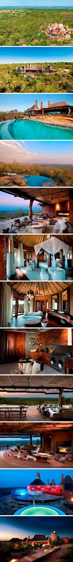 Luxury hotel set in 12,000 acres of African wilderness